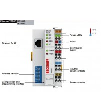BC9000, BC9050 | Ethernet TCP/IP Bus Terminal Controllers