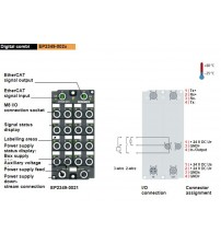 EP2349-0021 | 16-channel digital input or output 24 V DC, filter 10 µs